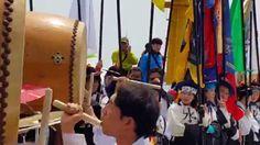 광복70주년기념 제8회코리아컵국제요트대회-요트 출정식 축하공연