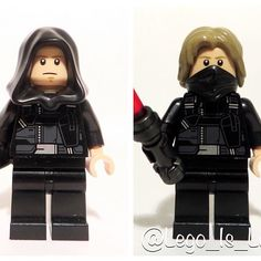 My custom Dark Side Luke Skywalker thoughts? Also what do you think would be a good name for Dark Side Luke?  Which version do you...