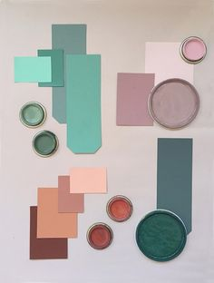 My April Mood Board: How to Create a Color Mood Board (Eclectic Trends)