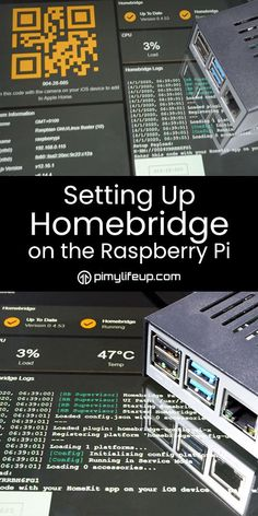 Set up Homebridge on a Raspberry Pi - Raspberry pi projects Set up Homebridge on a Raspberry Pi Connect devices to Apple Home with Homebridge on your Raspberry Pi - Diy Electronics, Electronics Projects, Raspberry Pi Programming, Iot Smart Home, Raspberry Computer, Raspberry Projects, Computer Projects, Arduino Projects, Learn Robotics