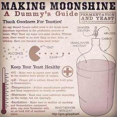 Yeast have a big impact the flavor and aroma of whiskey and moonshine. Choosing the right type and treating them right is important. This article covers basics. Copper Moonshine Still, How To Make Moonshine, Making Moonshine, Moonshine Kit, Apple Pie Moonshine, Peach Moonshine, Moonshine Whiskey, Homemade Alcohol, Homemade Liquor