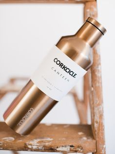 CORKCICLE Brushed Copper Canteen 25oz