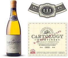 Alheit Vineyards - Cartology by Fanakalo , via Behance