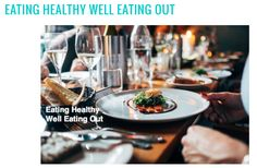 Need a game plan for how to eat healthy when eating out? 😱 We will show you how to navigate the danger zones! 🙅🏻 Eating out is one of life's great pleasures, which is why we've put together this guide to smart restaurant eating! 🍴😍💪🏽