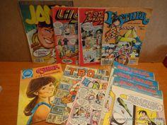 CONJUNTO DE COMICS VARIADOS.LILY / ESTHER / GENTE MENUDA / JANA / MORTADELO / TBO. LEER.