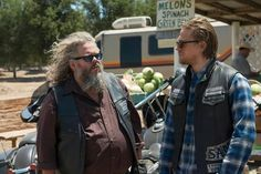 Bobby and Jax. Sons of anarchy