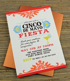 DIY Cinco de Mayo Fiesta Invitation Template from #DownloadandPrint. http://www.downloadandprint.com/templates/cinco-de-mayo-fiesta/
