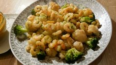 """Haddad Dish"""" Cauliflower with broccoli, shrimp and lentil soup with original pressed Moroccan olive oil"""
