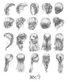 Hair inspiration for vintage prewedding theme