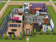 sims freeplay play houses