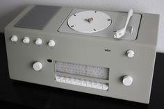 Braun studio 1 (1957) Kompaktgerät, RC 62-5 , Design: Hans Gugelot / Herbert Lindinger