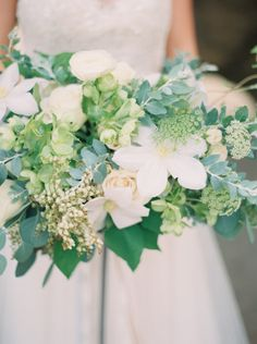 A perfectly girly bouquet: http://www.stylemepretty.com/california-weddings/malibu/2015/05/18/elegant-california-seaside-wedding-inspiration/ | Photography: Carolly - http://www.carollyphoto.com/