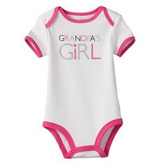 Carter's Grandpa's Girl Bodysuit - Baby Twin Outfits, Little Boy Outfits, Toddler Outfits, Girl Outfits, Baby Chloe, Beautiful Baby Girl, My Little Baby, Rainbow Baby, Toddler Fashion