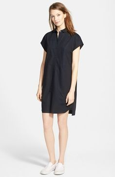 Madewell+'Vista'+Cap+Sleeve+Shirtdress+available+at+#Nordstrom