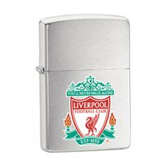 Personalised Liverpool Zippo Lighter