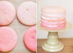 ombre cake for valentine's day - Sugar and Charm - sweet recipes - entertaining tips - lifestyle inspiration