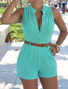 Women's Elegant Sleeveless Romper_________Zorket Provides Only Top Quality Products for Reasonable Prices + FREE SHIPPING Worldwide_________