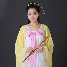 Goods.Site - 2015 female ancient chinese costume hanfu tang dynasty dress traditional chinese clothing Folk Dance