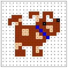 KleuterDigitaal - wb kralenplank hond 01