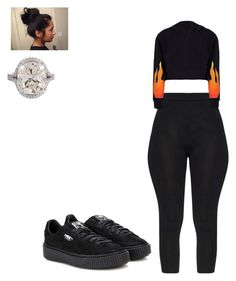 Special by queensamsam on Polyvore featuring polyvore, fashion, style, Puma and clothing