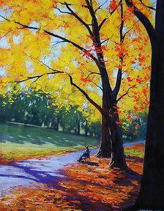 Autumn Park by Graham Gercken
