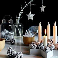 Christmas Table / Une table de fête esprit nordique