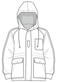 Fashion Sketch Template, Fashion Design Template, Pattern Fashion, Flat Drawings, Flat Sketches, Technical Drawings, Clothing Sketches, Dress Sketches, Fashion Design Portfolio