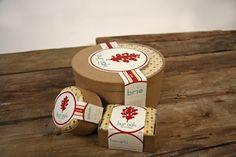 Bur Oak Cheese Packaging by Jarred Joly, via Behance