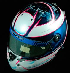 Andrew Palmer Schuberth SF-1. — Smart Race Paint -Helmet Painting at it's best-
