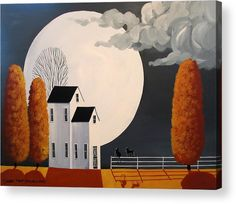 Sharing The Moon Beams Acrylic Print by Debbie Criswell.  All acrylic prints are professionally printed, packaged, and shipped within 3 - 4 business days and delivered ready-to-hang on your wall. Choose from multiple sizes and mounting options.