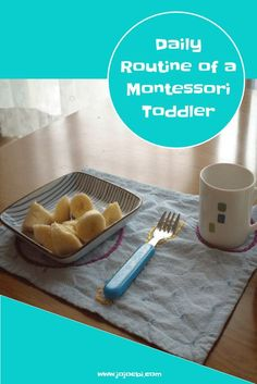 What does the daily routine for a Montessori toddler look like?   montessori   3 hour work cycle   3 hour work period   Montessori at home   montessori inspired