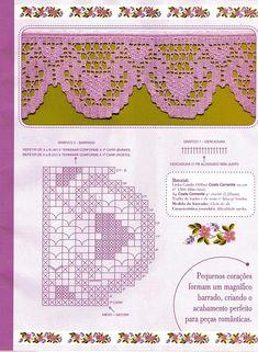 crochet border edging -