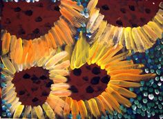 VanGogh Sunflowers