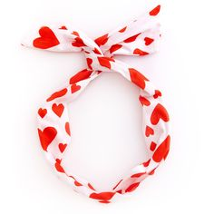 twist scarf - extreme supercute hearts