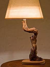 Risultati immagini per wood lamps