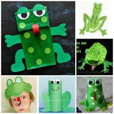 frog-crafts-for-kids-to-make.png (540×540)