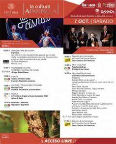 """La Cultura A- Pantalla"" se suma a programación del Festival de Cine de Oaxaca"