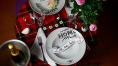 Tavola romantica di san Valentino evid