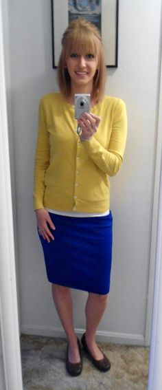 yellow, blue, and brown