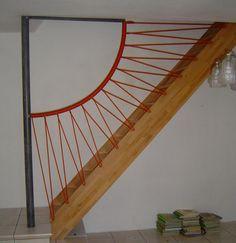 Plus de 1000 id es propos de escalier sur pinterest - Idee de rampe d escalier ...