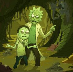 Toxic Rick and Morty
