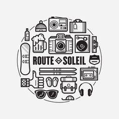 Route Du Soleil | GRAVUAL | Grafisch bureau | Grafische vormgeving | Antwerpen