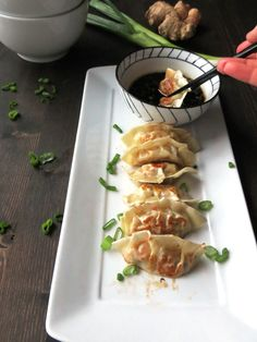 Delicious and delicate homemade gyoza recipe.Pork dumplings with the best dipping sauce you have ever tasted!