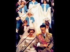 Scenes from wedding of King Baudouin to Queen Fabiola 15 December 1960 - King Baudouin: Born Sept. 7, 1930, Stuyvenberg Castle, near Brussels, Belgium - Died July 31, 1993, VIlla Astrida - Motril, Andalucia, Spain