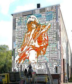 The Ramones street art UK