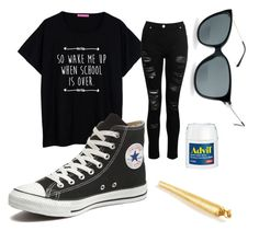 """Stoner kid"" by that-punk-kid on Polyvore featuring Converse and Corinne McCormack"