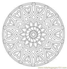 Mandala Coloring Page 001 (25)