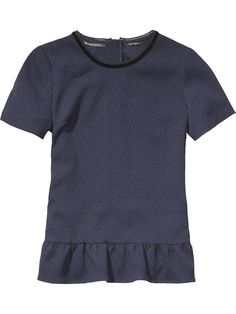 Peplum Top | Woven tops | Women's Clothing at Scotch & Soda
