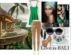 """LOVE is BALI"" by aerki on Polyvore"