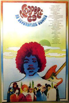 Newport Pop Festival 1969, poster